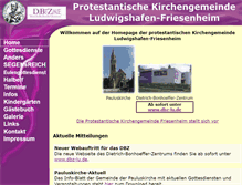 Tablet Preview of evkirchefriesenheim.de